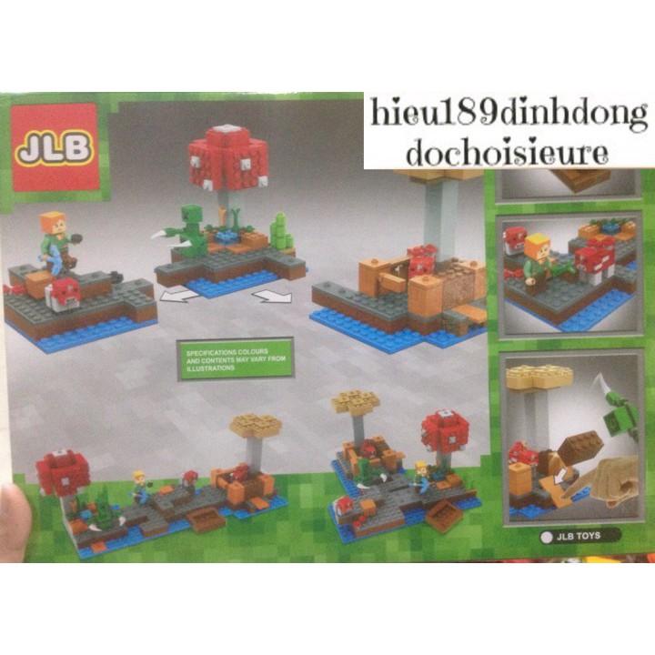 Lắp ráp xếp hình Lego Minecraft My World 44044 JLB: Khám phá khu vườn trên biển (Khách chat chọn mẫu)
