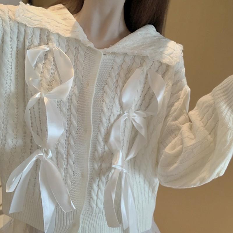 Bộ Áo Khoác Cổ Chữ V + Chân Váy Xinh Xắn Dành Cho Nữ
