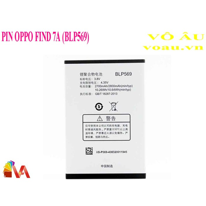 PIN OPPO FIND 7A