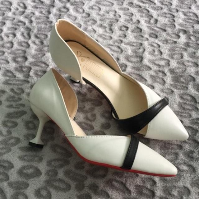 Giày quãng châu cao 5 cm size 36