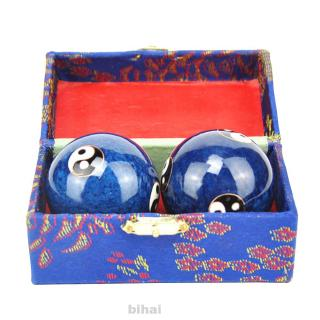 2pcs Muscle Training Meditation Stress Relief Relaxation Therapy Chinese Health Baoding Ball