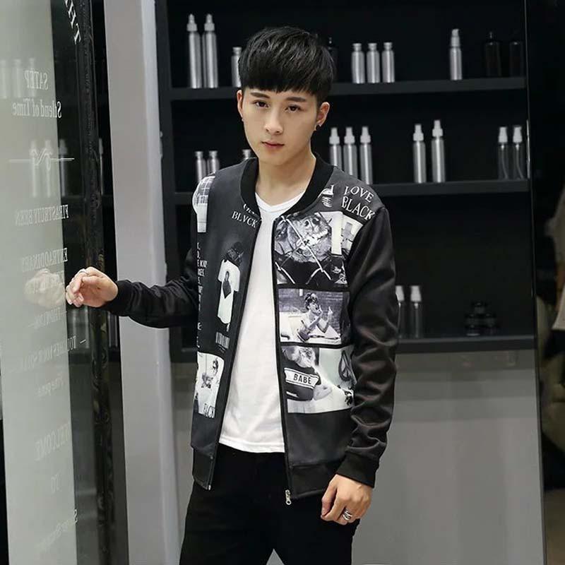 Thời Trang Nam, áo khoác nam love black
