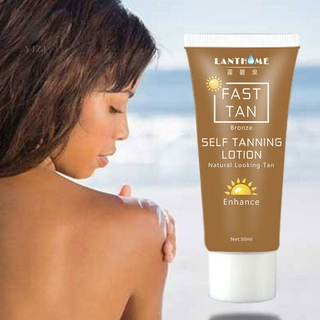 Hình ảnh COD& Self Tanner Sunless Tanning Body Lotion Cream Bronzing Self Tanning Lotion &VN