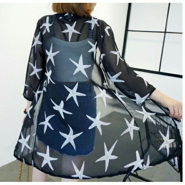 áo kimono đi biển