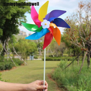 Hình ảnh Tbvn Garden Yard Party Outdoor Windmill Wind Spinner Ornament Decoration Kids Toys Cool