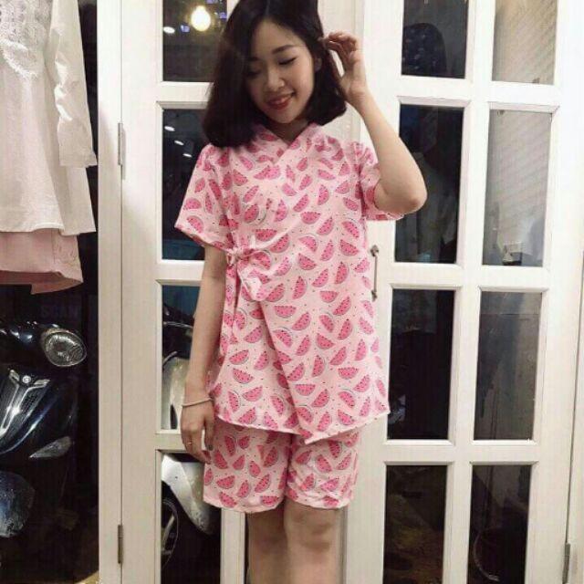 Set kimono áo + quần