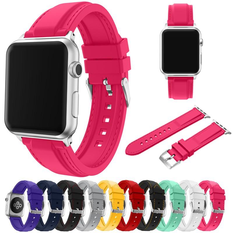 Dây đeo thay thế bằng Silicone cho đồng hồ Apple iWatch loại 38/42MM