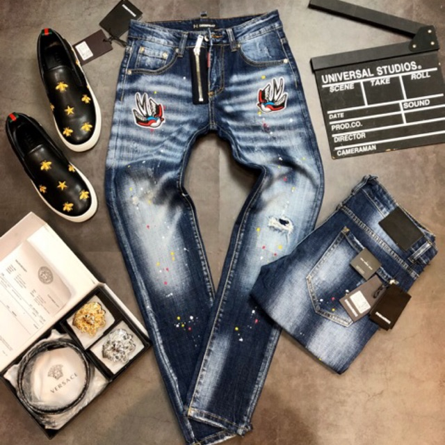 Quần Jeans Nam DSQ2 Scap 2020...