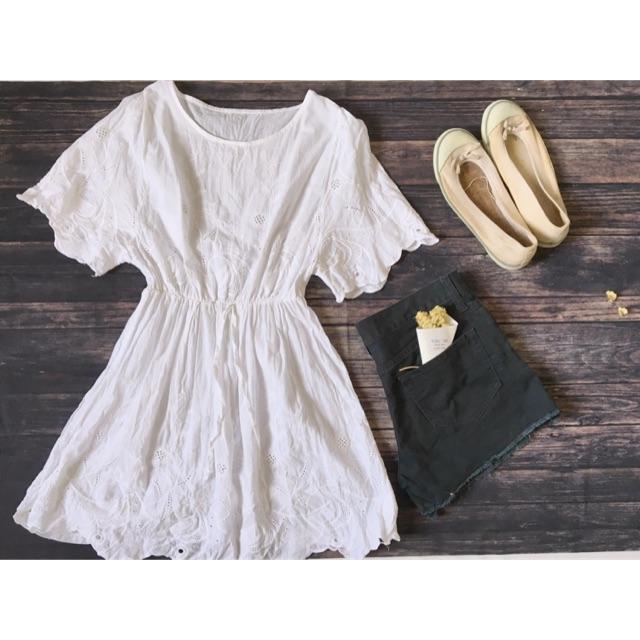 Combo 2 áo trắng