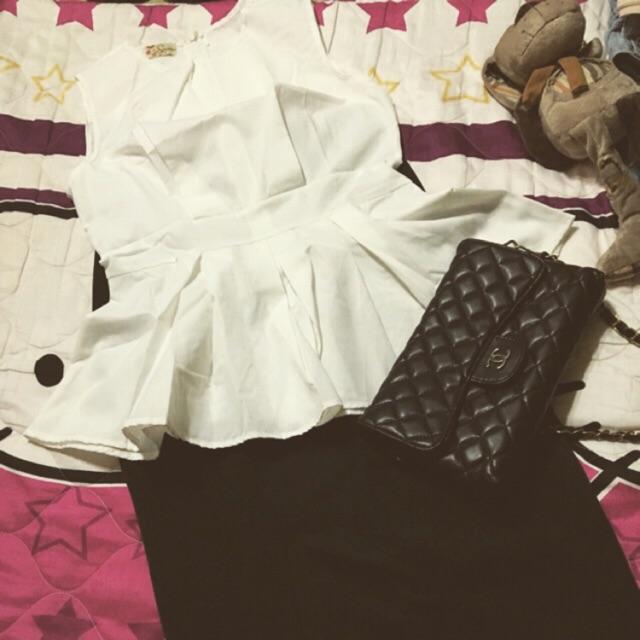 [MIỄN PHÍ VẬN CHUYỂN ĐƠN HÀNG TỪ 50K ĐẾN 30/06/2020] Set áo + chân váy công sở SAMI