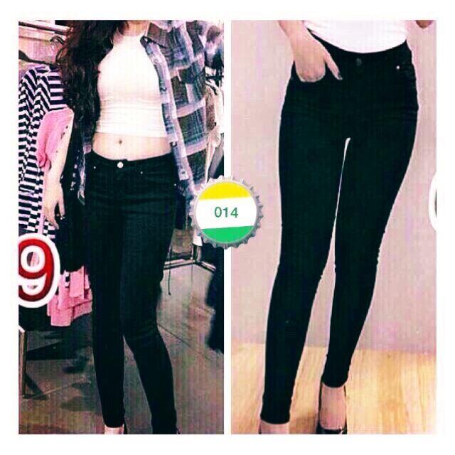 Quần jeans đen
