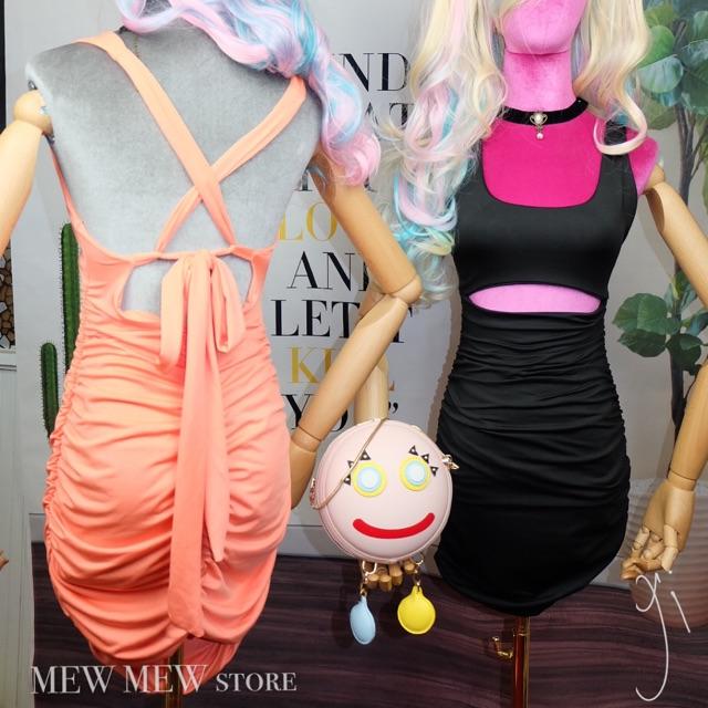 Váy ôm, hàng thiết kế - đầm body, may 2 lớp siêu HOT nhà MEW MEW