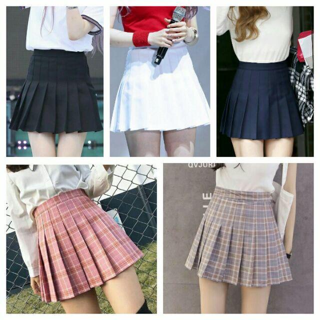 Chân váy xếp ly - Váy tennis - ảnh chụp thật - Coral Girls Shop