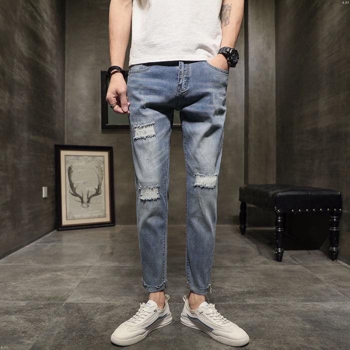 Quần Jeans Nam Dài Ôm Dáng Thời Trang 872