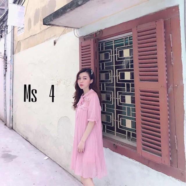 FREESHIP 99K TOÀN QUỐC_Váy Ren Buộc Nơ Hàng QC