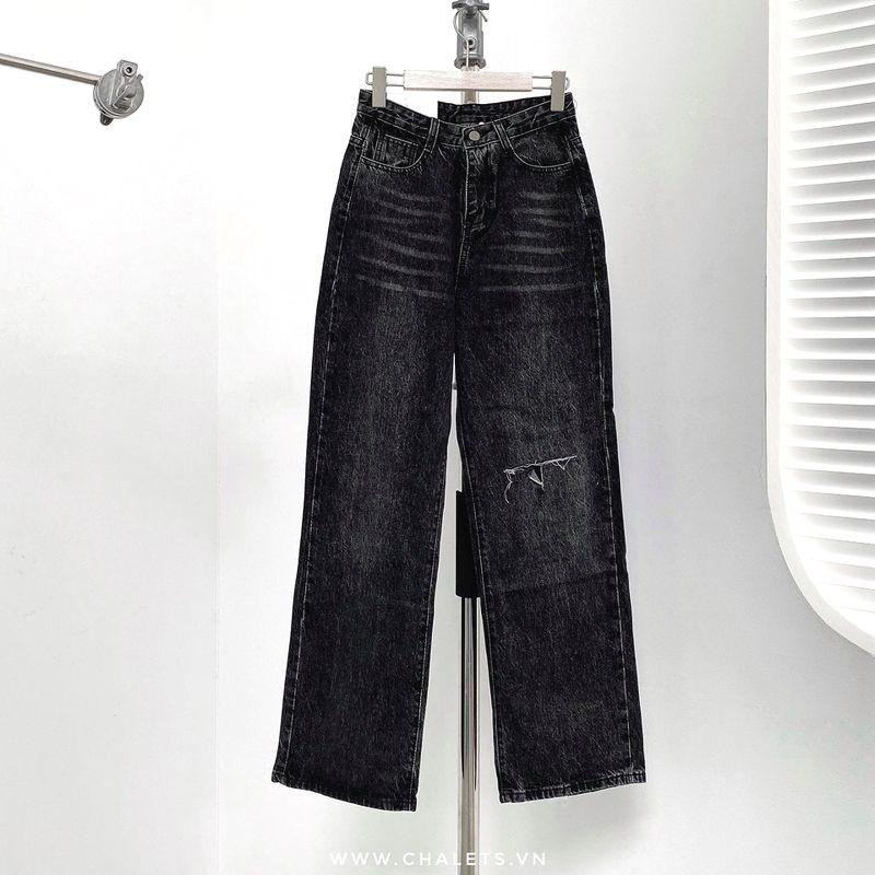 quần jeans rách ngang q5697