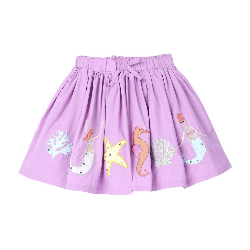 Chân váy hè tím người cá - Little Maven