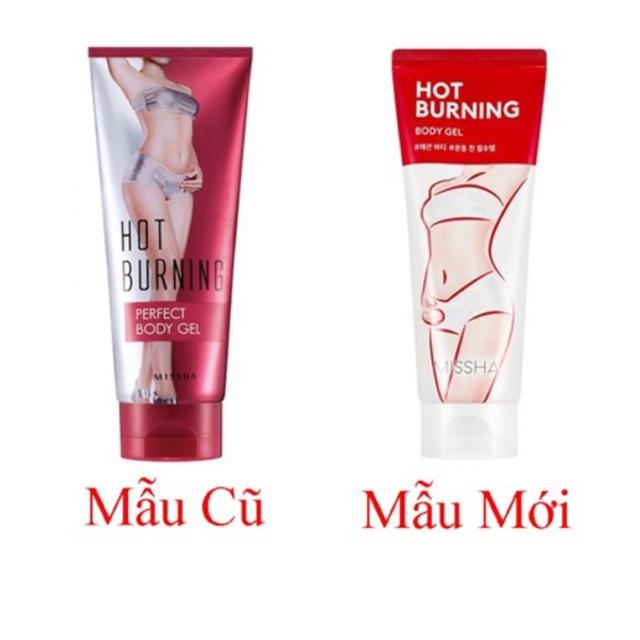 Gel Tan mở bụng Missha Hot Burning perfect Body gel
