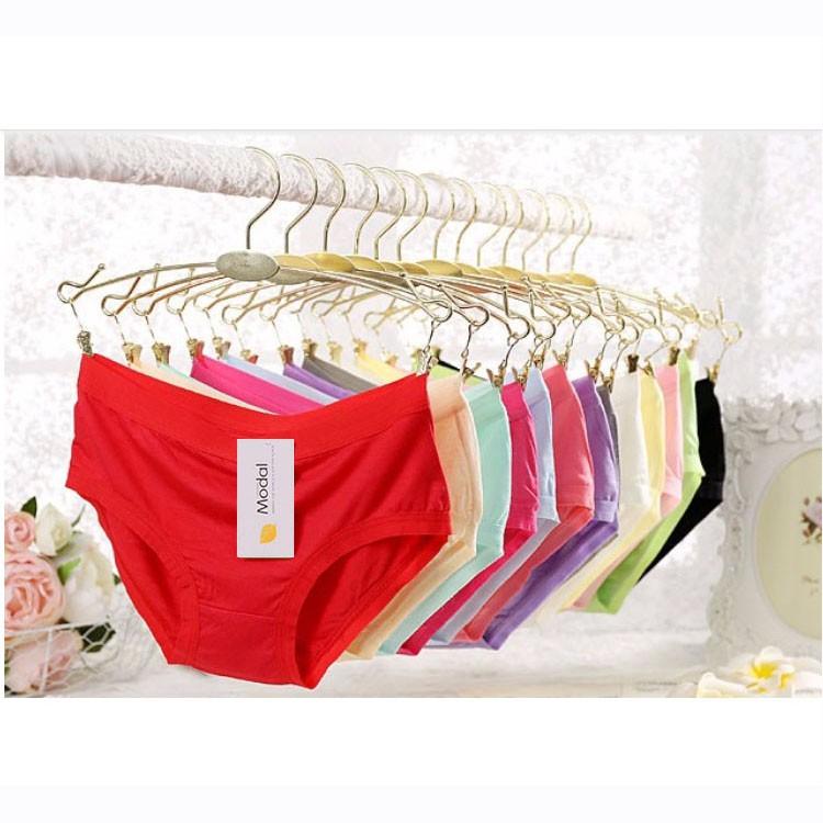 Combo 10 Quần lót nữ thời trang cao cấp chất cotton đẹp MODAL 513 - nhiều màu