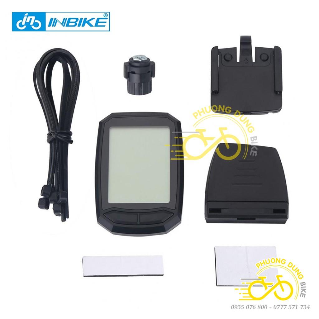 Đồng hồ đo tốc độ xe đạp không dây INBIKE IC-602