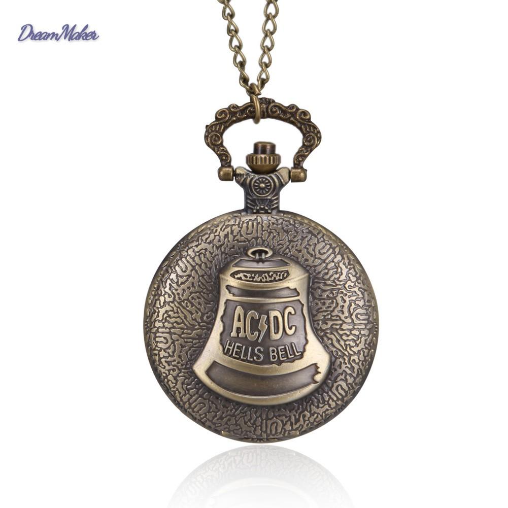 Đồng hồ quả quýt chạm khắc họa tiết xinh xắn cho nam và nữ