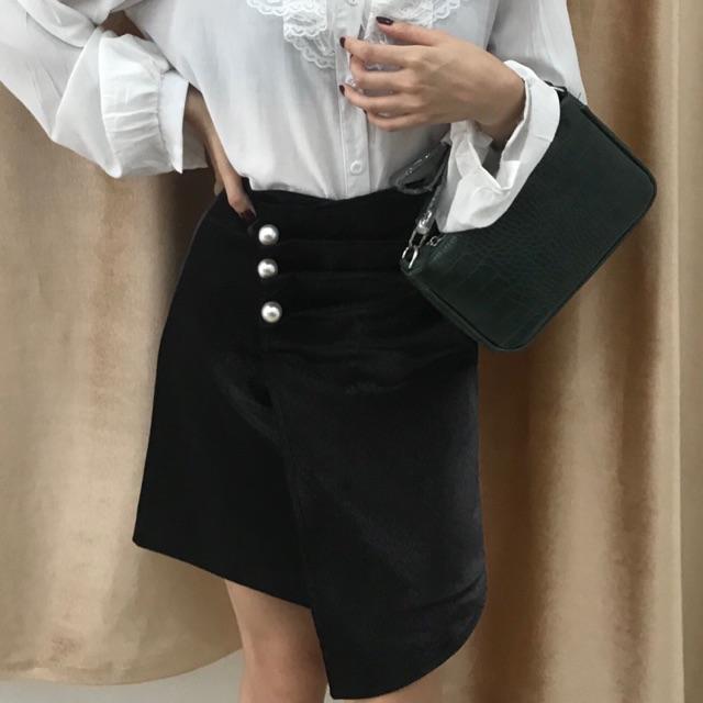 [Mã WAPUSH giảm 15% đơn 50K] 956# chân váy nữ lưng cao thời trang