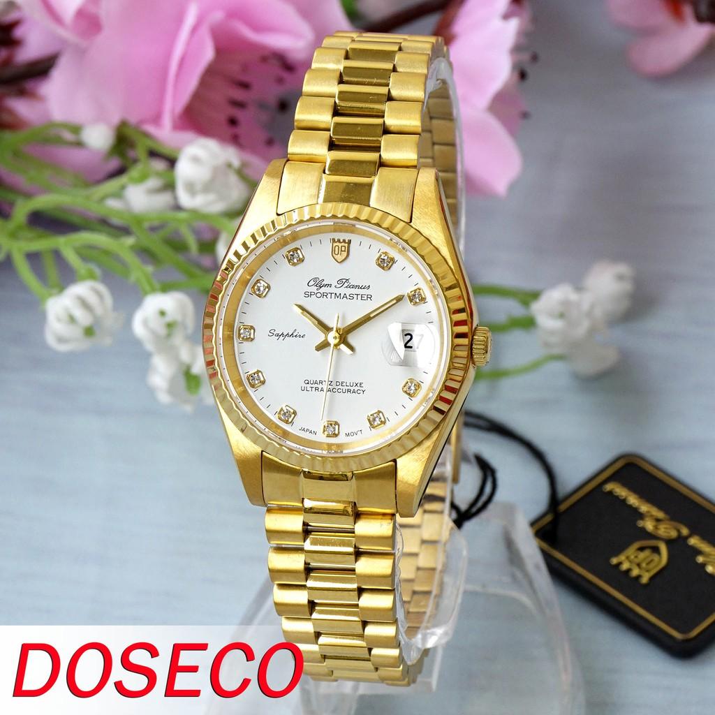 Đồng hồ nữ Olym Pianus Sportmaster Quartz OP68322L29K-T