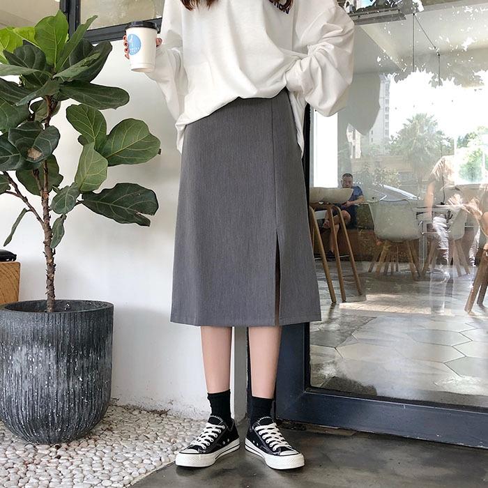 Chân Váy Dài Phong Cách Hàn Quốc Xinh Xắn Cho Nữ