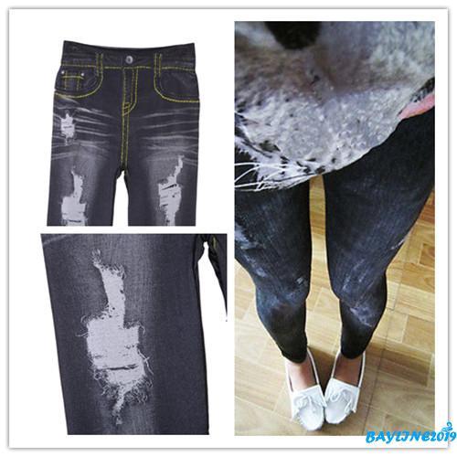 Quần Jeans Legging thời trang quyến rũ cho nữ