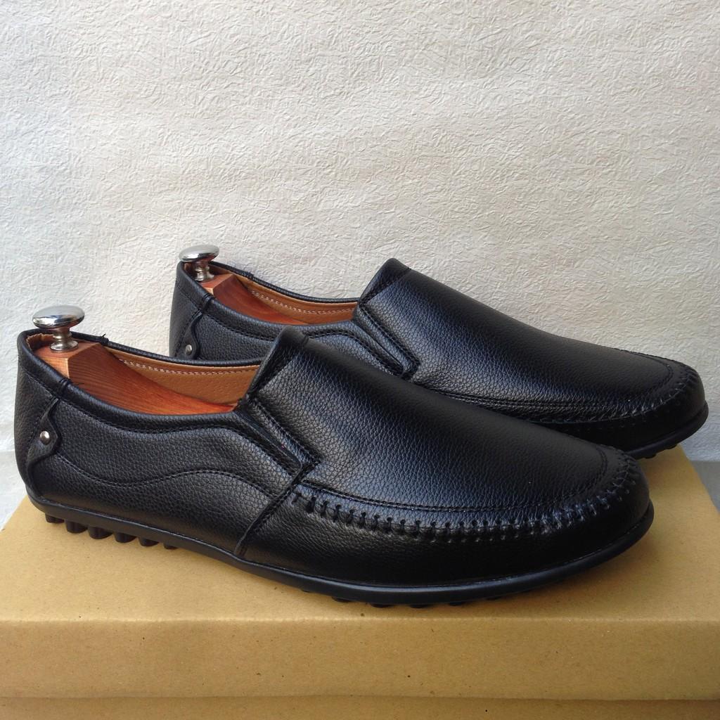 [CHỈ 1 NGÀY] [XƯỞNG BÁN LẺ]KHO BÁN BUÔN SỈ Giày mọi nam đế đinh đen - GN29