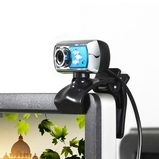 HD 12 MP 3 LED Webcam USB Caa with Mic & Vision Night for Deskt