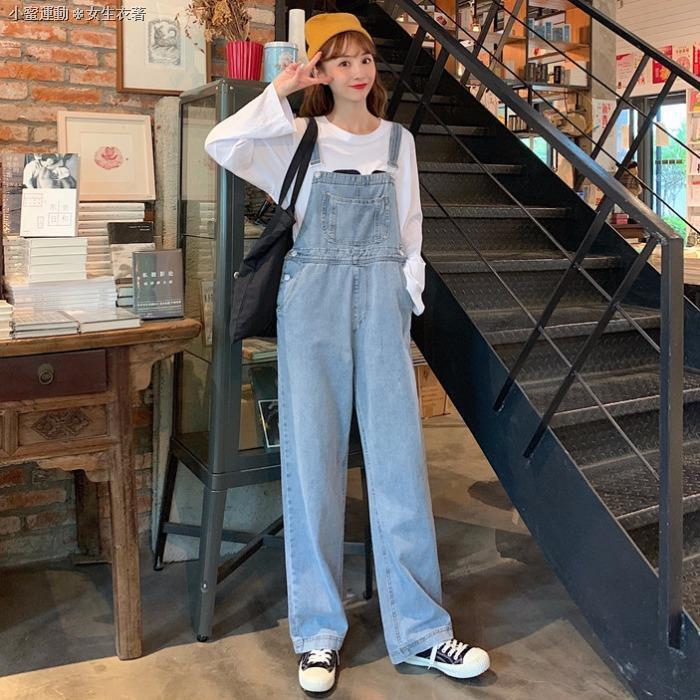 Quần Jeans Ống Rộng Thời Trang Mùa Thu Cho Nữ