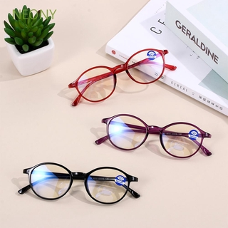 NEONY Round Frame TR90 Flat Mirror Vision Care Eyewear Reading Gaming Blue Light Blocking Glasses