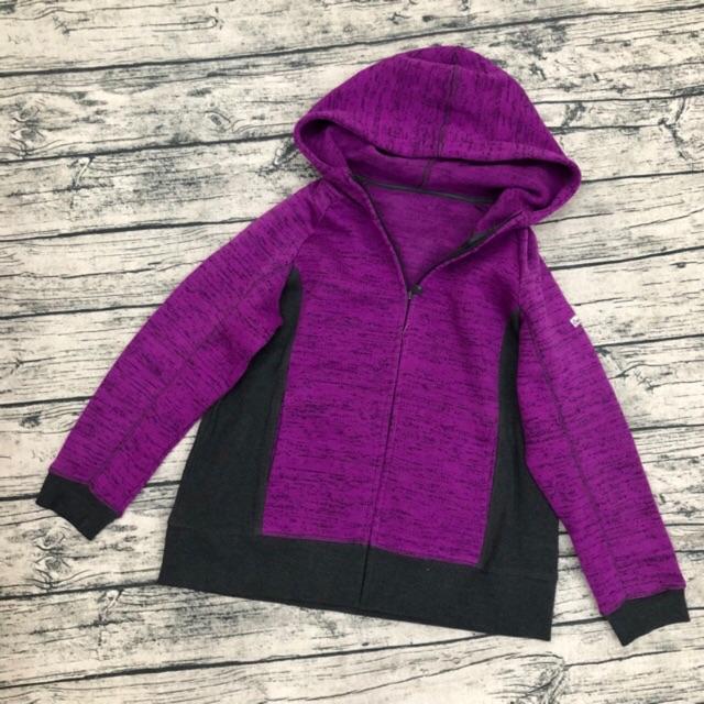 áo khoác len 1 màu tím