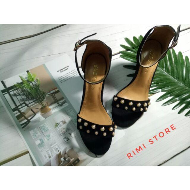 Sandal đính ngọc size 35-36