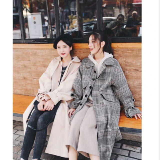 Order áo khoác vải dạ trần bông mỏng, hàng quảng châu loại đẹp