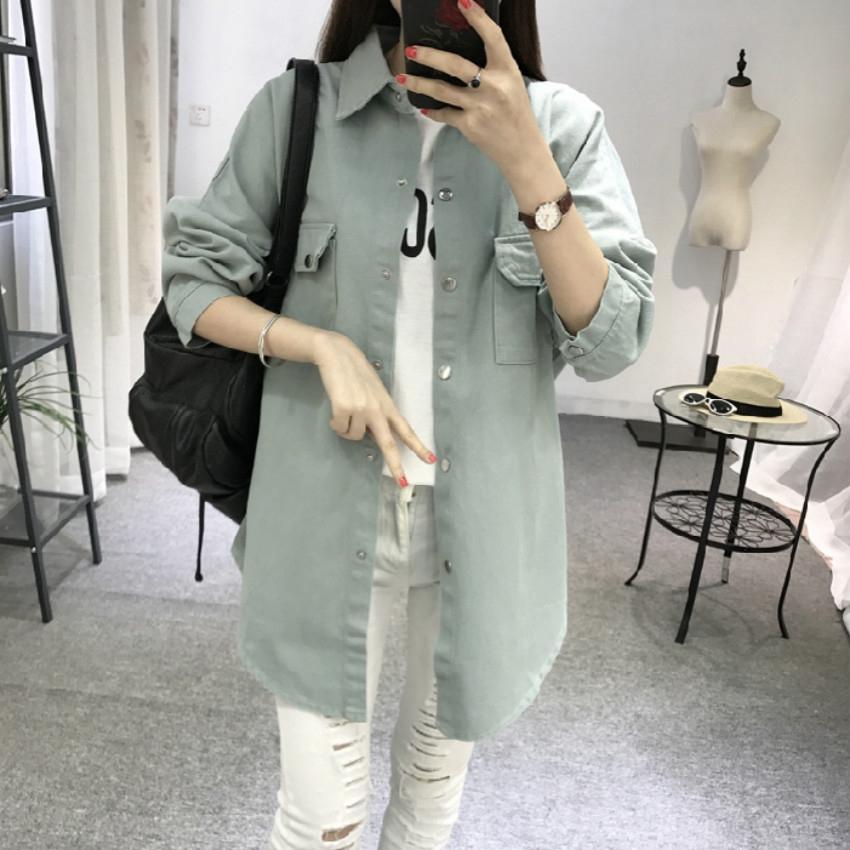 áo khoác denim thời trang cho nữ (5 màu)
