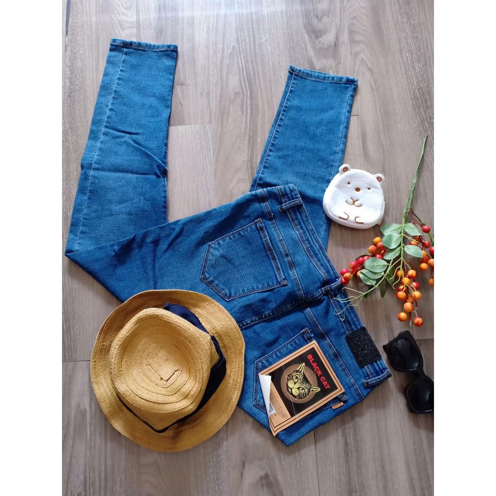 quần jean skinny siêu co giãn bigsize ms03
