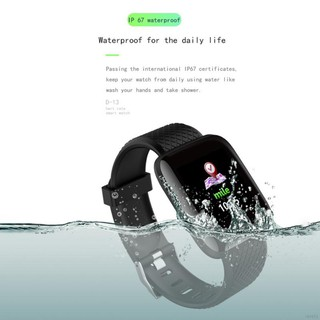 D13 Smart  Watch Fitness Tracker/IP67 Waterproof for Iphone and Android