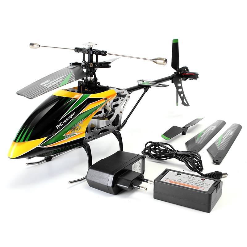 Hình ảnh WLtoys V912 4CH Brushless RC Helicopter With Gyro BNF