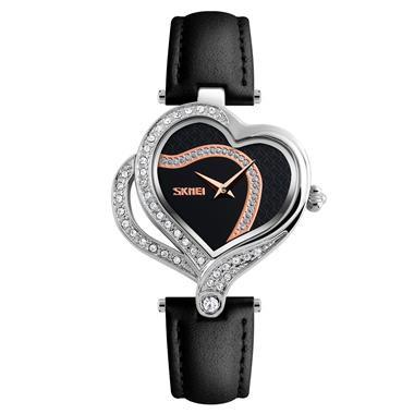 Đồng hồ nữ Skmei màu đen mê hoặc