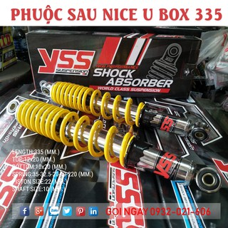 Phuộc YSS Dream , Wave , Future , Axelo Nice U Box 335