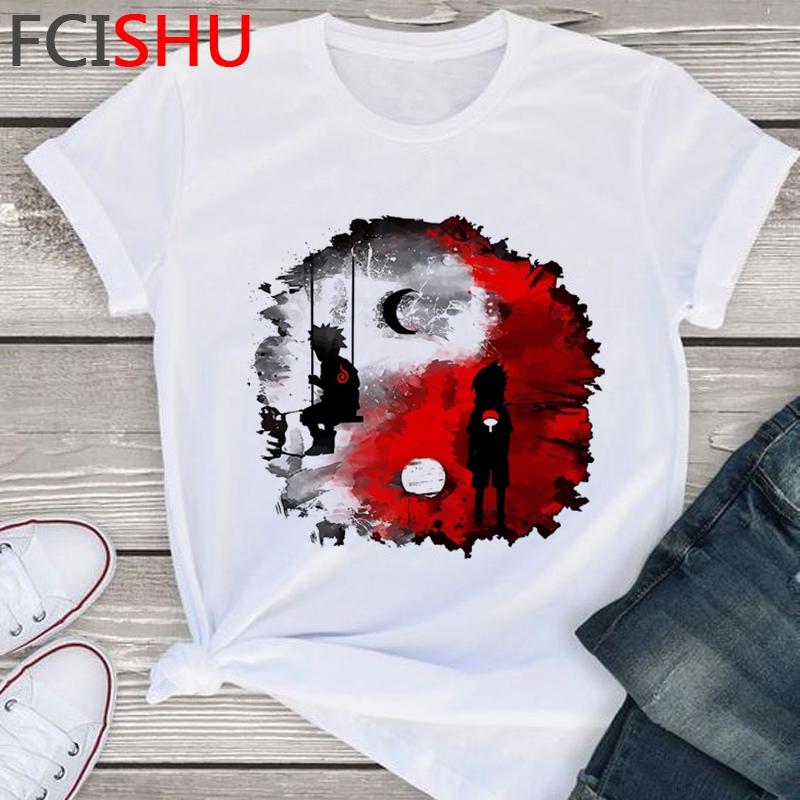 áo thun nữ naruto T-Shirt Hot Summer Tshirt style Plus T punk women's male Short Sleeve Size Shirt tShirts women Cotton women áo phông