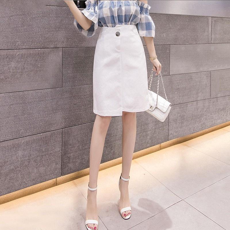 Chân Váy Dáng Dài Màu Trắng Thời Trang Cao Cấp Cho Nữ