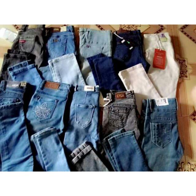 Combo quần jean nữ