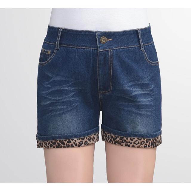 Quần short jean thun size lớn cho người béo 4XL 80-90kg