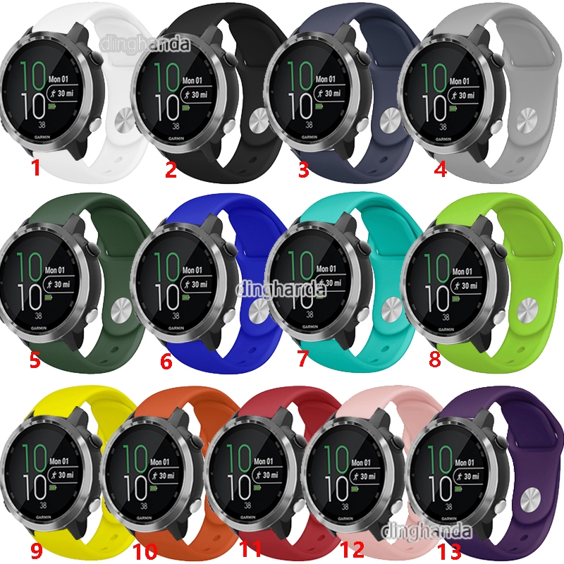 Hình ảnh Soft Silicone Band Strap for Garmin Forerunner 645 245 245M