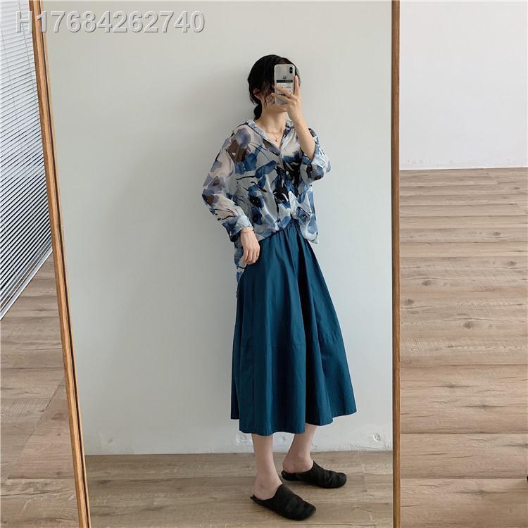 Chân Váy Nữ Lưng Cao Dáng Xòe Thời Trang Hàn