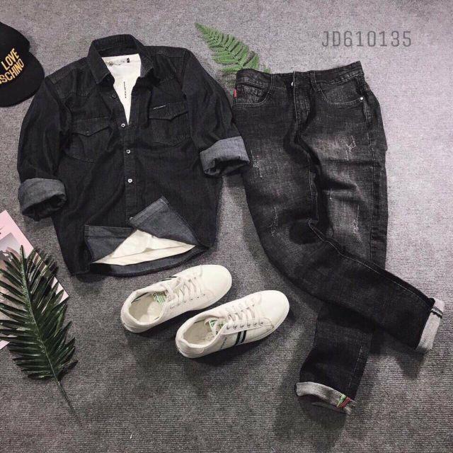 Quần bò nam quần jean nam siêu đẹp