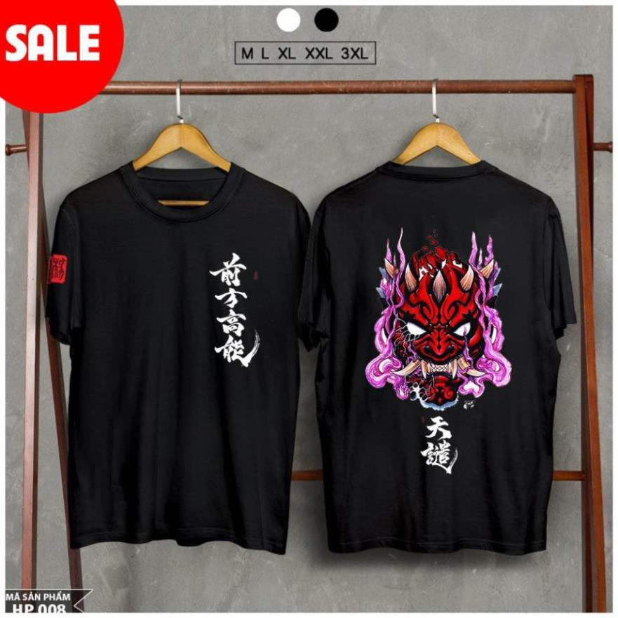 [MẤU MỚI] [HOT] Siêu phẩm áo thun Samurai mặt quỷ - áo thun unisex cực đẹp